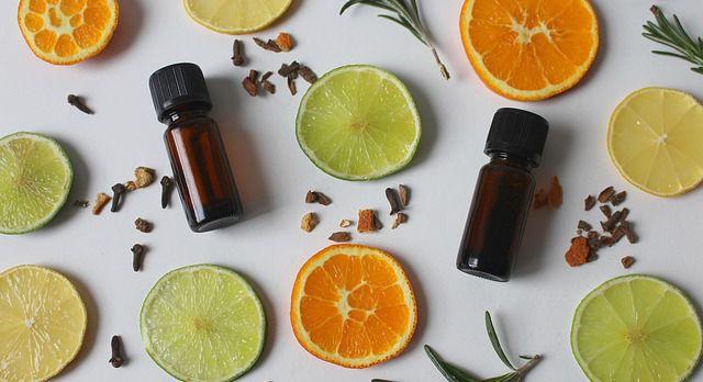 Aceite esencial de naranja y limón