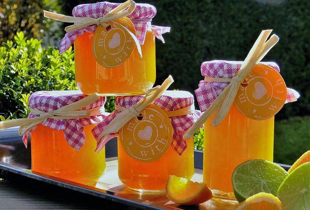 Mermelada de cascara de naranja