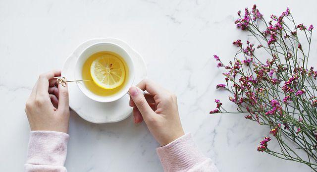 té con concha de limón