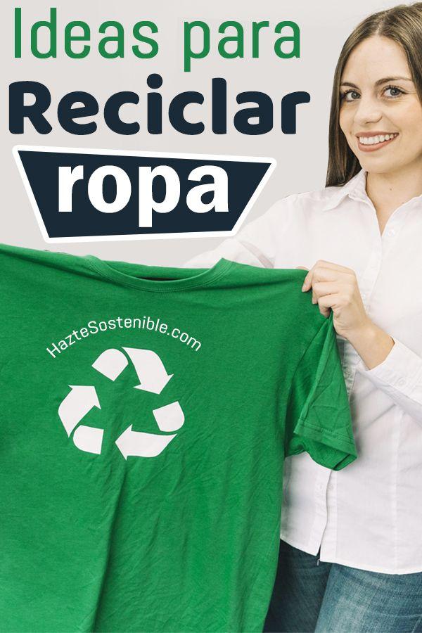 reciclar ropa vieja