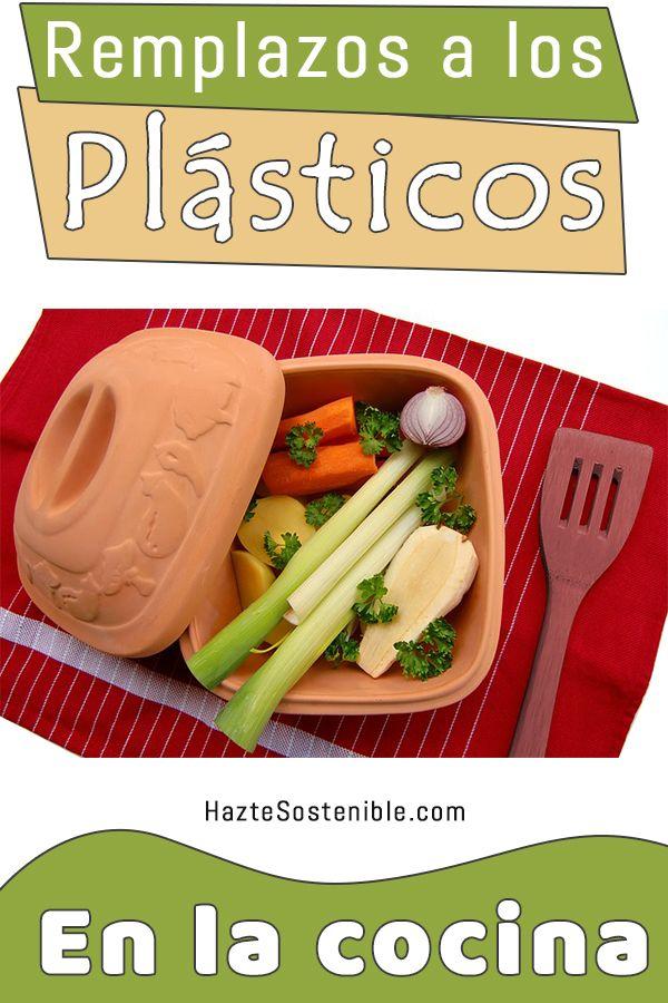 Remplazos a los plasticos de la cocina