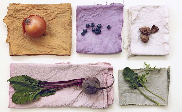 Tintes naturales textiles