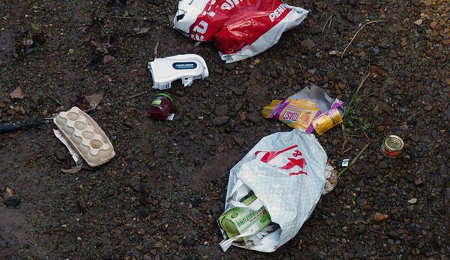 basura de plastico