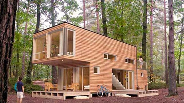 casa contenedor o tiny house container