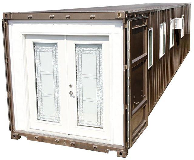 Mini casa container o contenedor