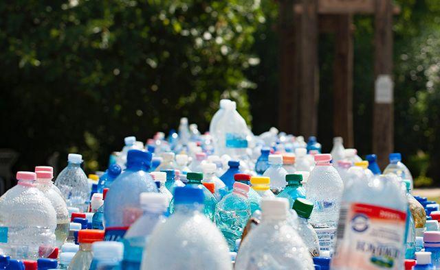 reciclaje de botellas de plástico para ganar dinero
