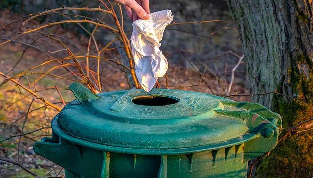 Ropa o tela basura