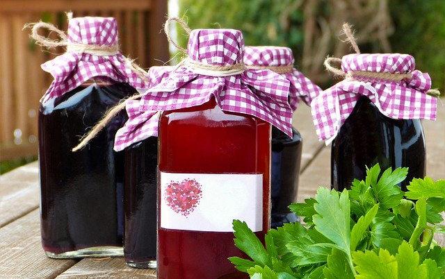 Botellas para vino o licor casero