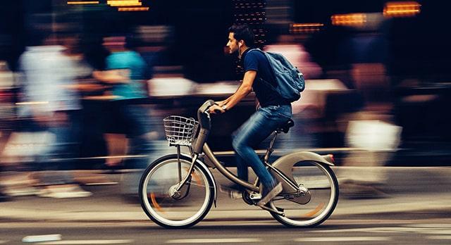 bicicleta para un estilo de vida sostenible