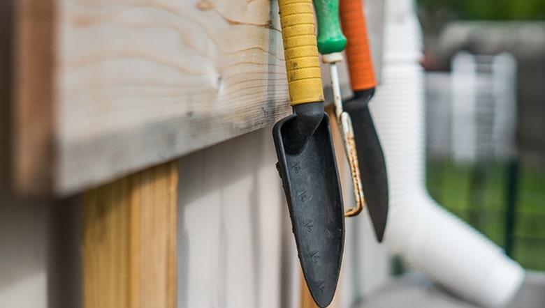Cuidados de herramientas de jardinería