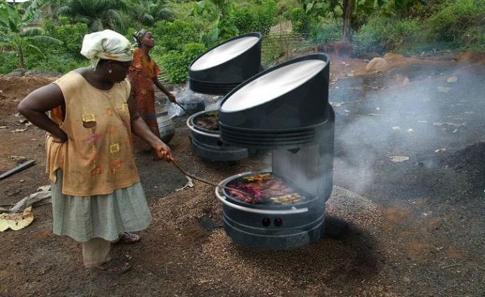 cocina solar asador 24h