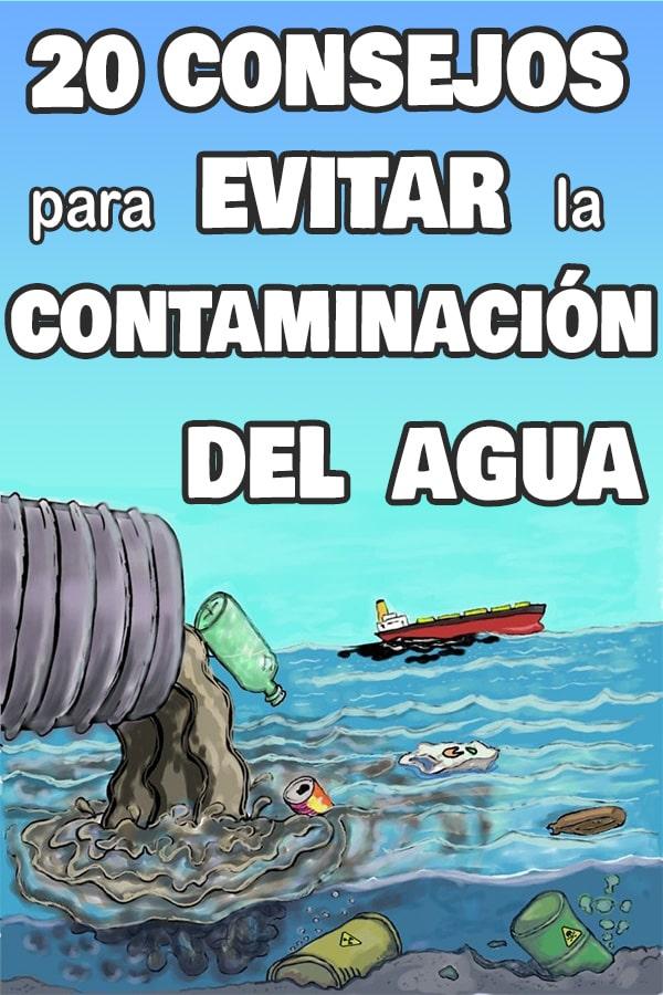 evitar la contaminación del agua