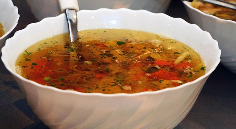 guiso, sopa o caldo