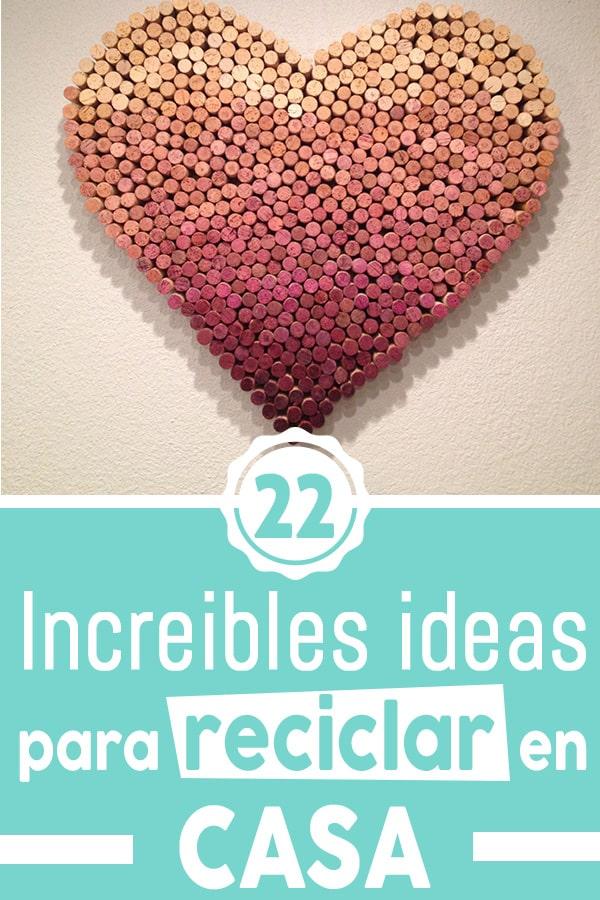 ideas para reciclar en casa