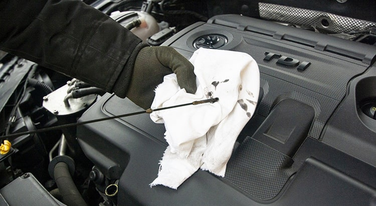 Reciclar aceite del motor