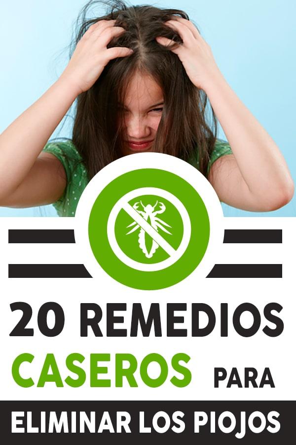 remedios caseros para eliminar los piojos