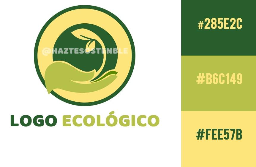 como crear un logo ecológico